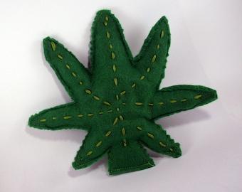 Cannabis Leaf, Cantip Herb, Catnip Weed