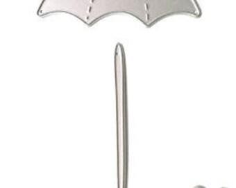 2.4 x 4 inch Cute Umbrella Die