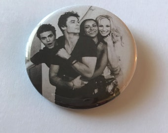 Vampire Diaries Pinback Button
