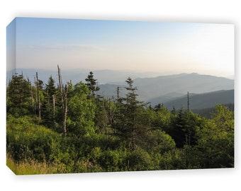 Nature Photography Canvas - Smoky Mountains - Tennessee Art - Nature Photography - Smoky Mountain Art - Tennessee Landscape - Nature Canvas
