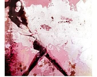 PINKSTOCK - Mixed Media Fine Art Ltd Giclee Print