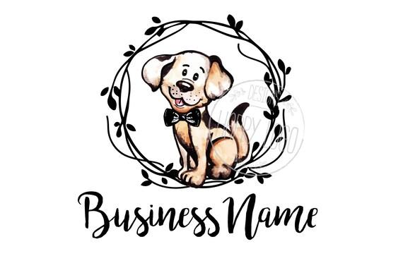 Top DIGITAL Custom logo design cute puppy logo cute logo logo YH78