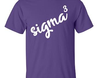 Sigma Sigma Sigma, Tri Sigma, Sigma Sigma Sigma T Shirt, Sigma Sigma Sigma Shirt, Tri Sigma Cubed, Sorority Shirt, big little shirt, greek