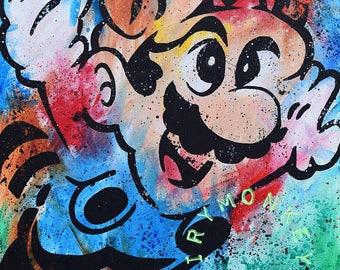 Mario Flying (Print)