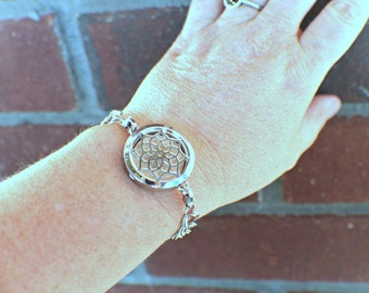 Aromatherapy Bracelet - Stainless Steel Essential Oil Diffuser Necklace -Diffuser Bracelet - Essential Oil Bracelet - Diffuser Locket