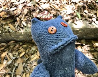 Oodelally Oppenheimer sock monster -Ready to ship!