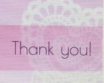 Thank You: Lace Heart Wedding Candy Wrapper