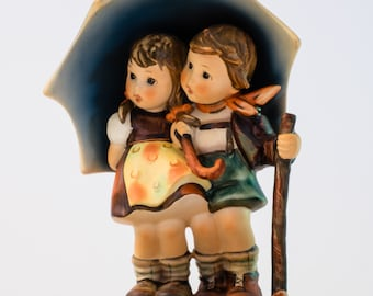 """Hummel Goebel Figurine, """"Stormy Weather"""", TMK 5."""