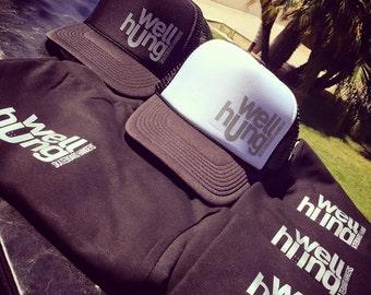 Well Hung Trucker Hats
