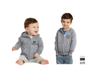 Infant & Toddler Embroidered Hoodies | Embroidered Baby and Toddler Hoodie, Baby and Toddler Full Zip Fleece Hoodie, Hoodies with Designs
