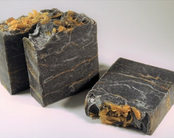 Gold Mine Charcoal Soap