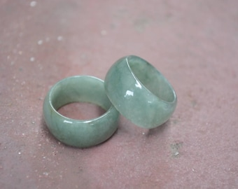 Thick Jade Ring, Jade ring