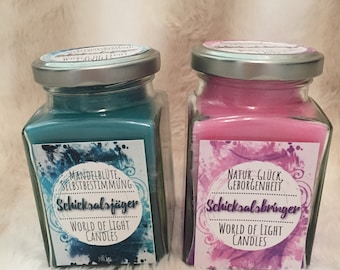 Bookish Candle Set