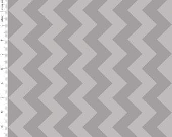 Gray Tone on Tone Medium Chevron by Riley Blake - C380-41-GRAY