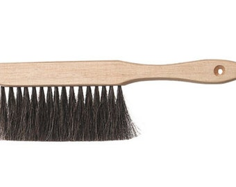 Drafting Brush or Bench Brush - Fine Bristles to Clean the Most Powdery Dust - Glitter and All     (DR-002)