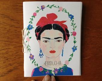 Frida Kahlo Illustration Paintings Zine Friducha