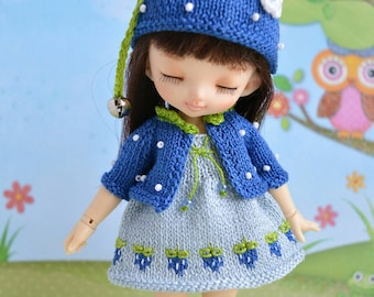 Pre-order Pukifee blueberry outfit