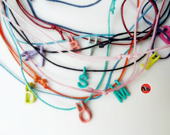 Delicate monogram Chains