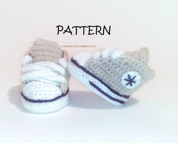 converse de bebe a crochet