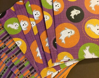 Ghosts ans Spiders Treat Bag Set