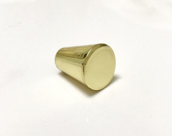 Peggy 5/8'' Polished Brass Cabinet Knob Drawer Pull