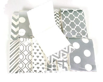 24  Matchbook Sized Notepad  Party Favors in  Sterling