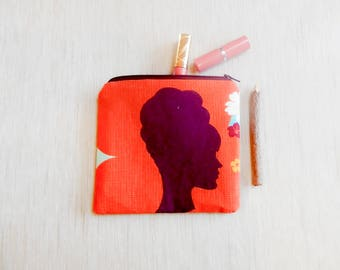 Gift for Women/ Gift for Her/ Make Up Bag/ Pencil Case/ Valentines Day Gift/ Gift for mom/ Wife Gift/ Birthday gift/ BFF Gift/ Coworker Gift