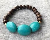 Turquoise Bracelet, Stret...