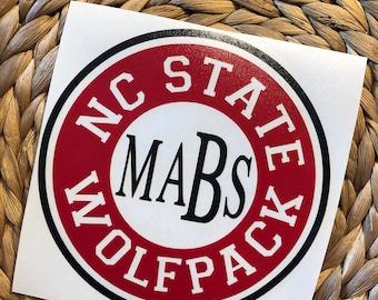 North Carolina State Wolfpack Vinyl Decal