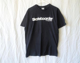 SALE 90s Skateboarder Magazine T-Shirt