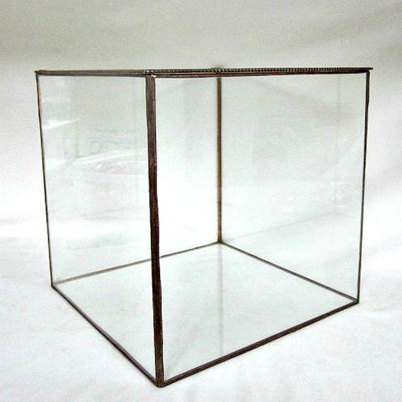 Glass Display Box Bridal Bouquet Holder Display Box Glass