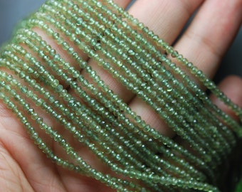 13'' Strand Natural GREEN Apatite Size 2.90mm Manufacturers Price Item