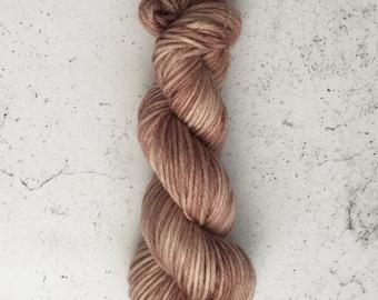 Hand Dyed Bulky Yarn, Knitting Yarn, 100% Superwash Merino Wool, 100g/137 yards