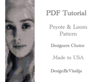 Game Of Thrones Pattern Daenerys Targaryen Peyote Pattern Bracelet Loom Pattern Beading Tutorial Digital