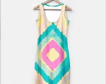 URBAN IKAT DRESS