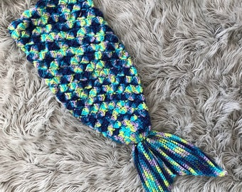 Crochet Mermaid Tail Size 0-3 Months