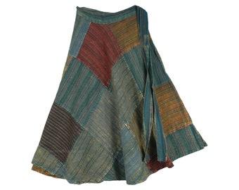 April Showers Patchwork Skirt