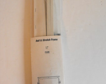 """12"""" Roll and Stretch Needlework Frame Needle-Ease  (1595)"""