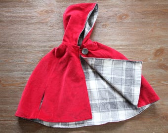 Little Red Riding Hood Costume Gift Set