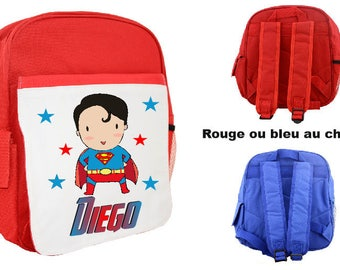 KIDS BACKPACK PERSONALIZED WITH CHILD'S NAME