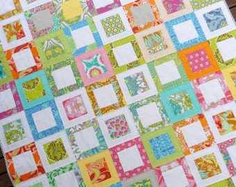 Sweet Daisy Quilt Pattern (PDF file) - Immediate Download