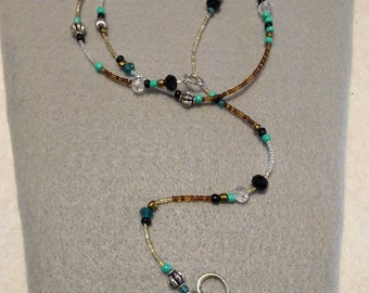 Beautiful beaded Lariat Necklace!!!