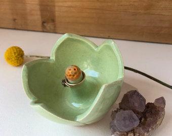 Handmade Ceramic Ring Holder - Ring Dish - Engagement Ring Holder