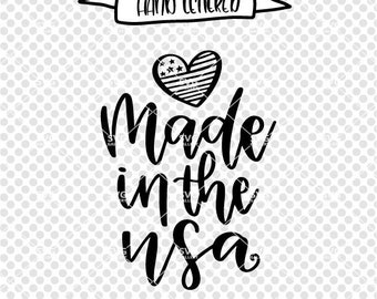 made in the USA svg 4th of July svg, independence day, america svg, USA SVG, Digital cut file, fourth of july svg, commercial use ok