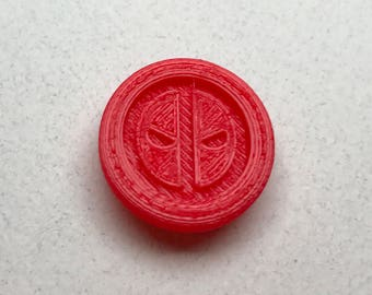 Fandom Caps for Fidget Spinners - Deadpool - Comfort Cap Style 3D printed toy