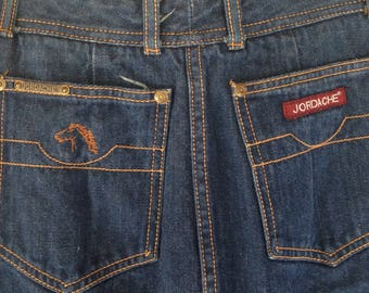 Vintage Jordache dark Denim Long Skirt