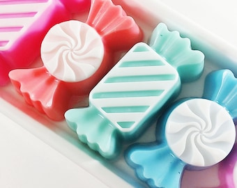 Foodie Gift. Gift for Foodie. Gift Soap. Best Friend gift. Coworker Gift. Gift for Her. Stocking stuffer. CANDY SOAPS. Baker Gift. Mom gift