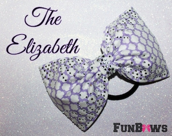 The Elizabeth - Gorgeous New Sewn Rhinestone Boutique Bow by Funbows