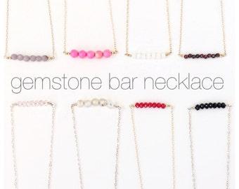 Gemstone Necklace, Pendant Necklace, Gemstone Necklaces, Garnet Necklace, Birthstone Jewelry, Amethyst Pendant, Gem Necklaces