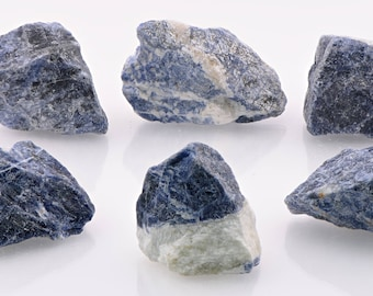 Sodalite Raw Rough Gemstone - Stone for Communication Power